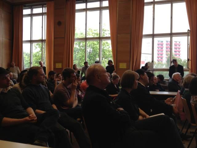 O público ontem no LAI. Foto: Ludmila Anders